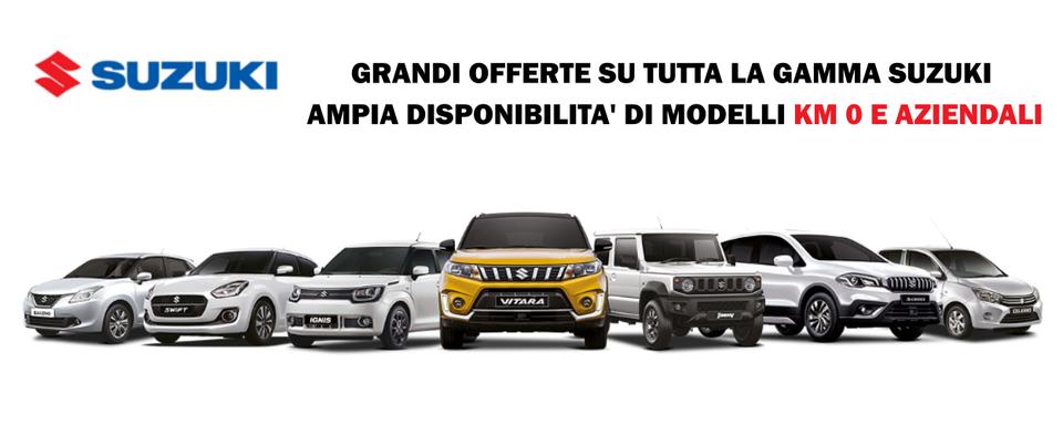 Suzuki km 0 e aziendali a Vigevano Abbiategrasso Pavia